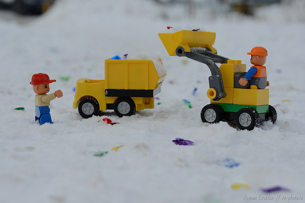 lego jeux prote du casque sur les chantiers