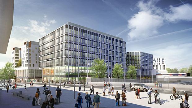 infrastructure du nouveau quartier nanterre coeur université