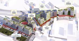 plan améngement du quartier