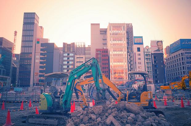 photographie ville construction paysage urbain