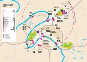 Les équipements proposés pour les Jeux Olympiques de Paris 2024 se répartissent dans l'Ile-de-France.