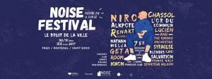 programme du festival Noise festival