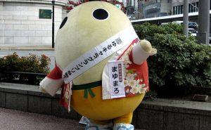 Mayumaro, cocon de ver à soie en habits traditionnels, mais surtout : agent des relations publiques à Kyoto