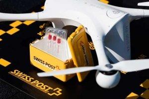 Drone et son chargement