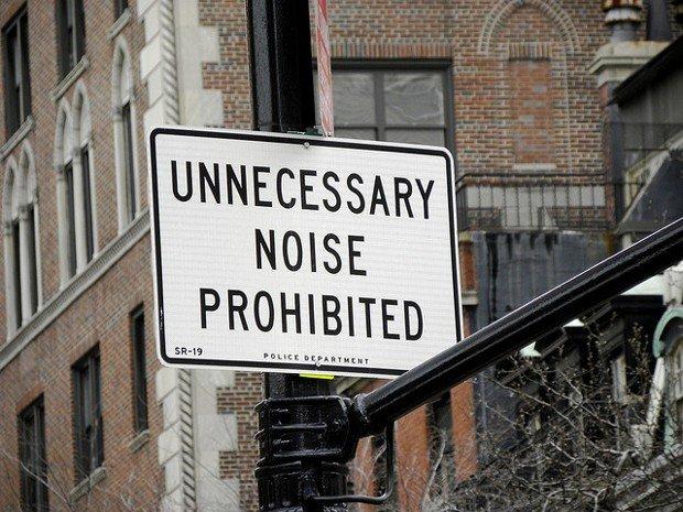 Le bruit dans la ville