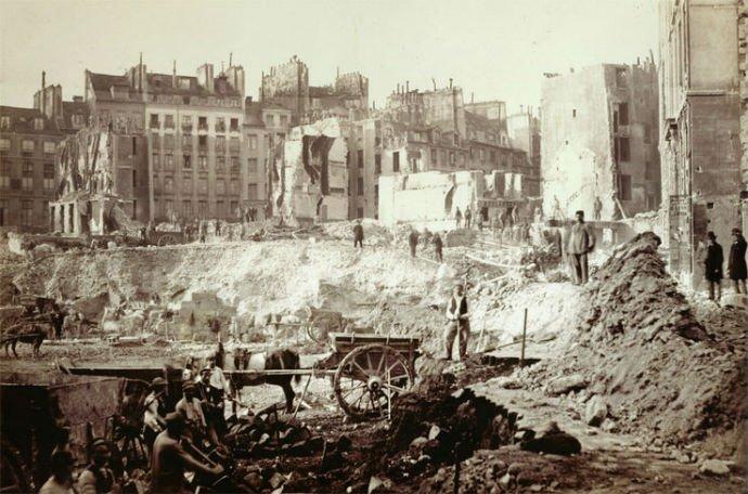 Travaux haussmanniens dans Paris