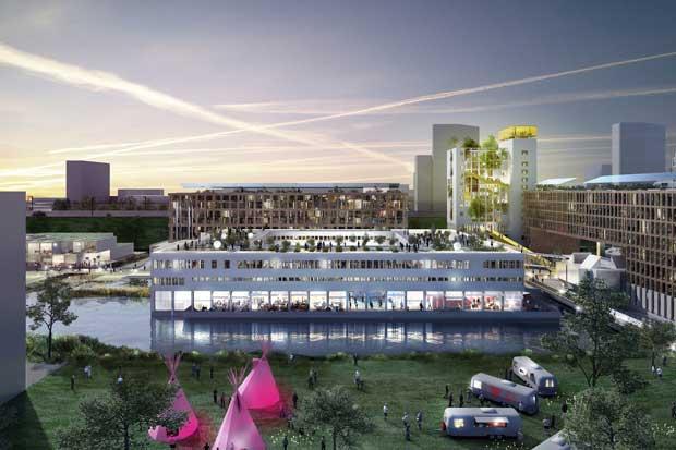 Une prison située dans la périphérie d'Amsterdam, va être requalifiée en écoquartier.