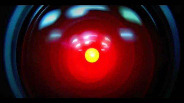 L'intelligence artificielle HAL dans le film 2001 L'Odyssée de l'espace