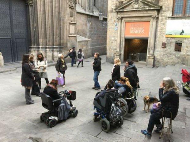 Une ville accessible aux personnes handicapées