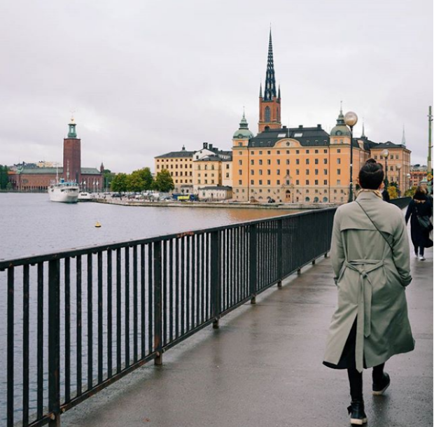 Vue sur Stockholm