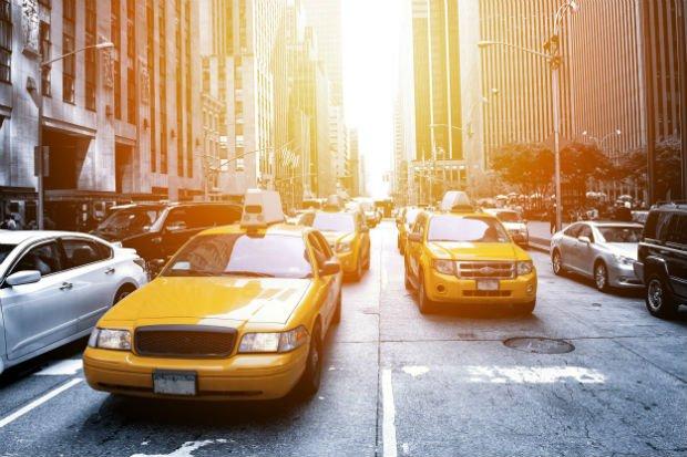 Des taxis à New York Crédit Shutterstock