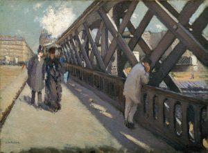 le pont de l'europe en peinture