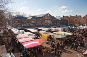 Vue sur le marché de Lille