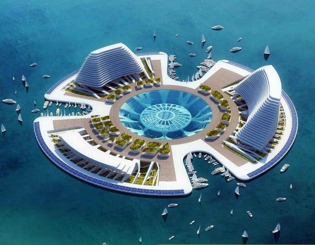 Le projet Lilypad de Vincent Callebaut, présenté en 2008