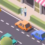 dessin stationnement payant