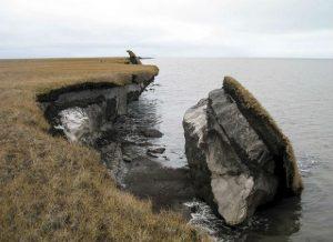 Éboulement naturel en Alaska