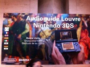 La Nintendo 3DS au Louvre