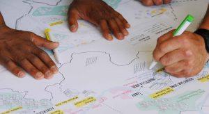 Séance de créativité pour une fabrication participative de la ville