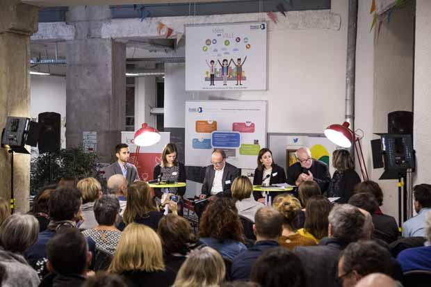 Conference Observatoire de la ville à lyon sur l'innovation sociale