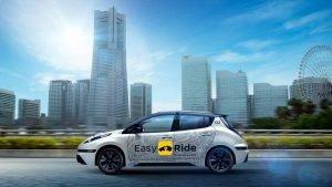 Des robots-taxis seront testés au Japon.