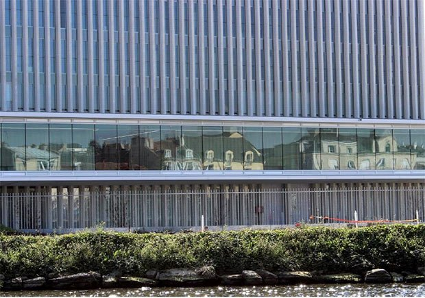 photo du tribunal architecture