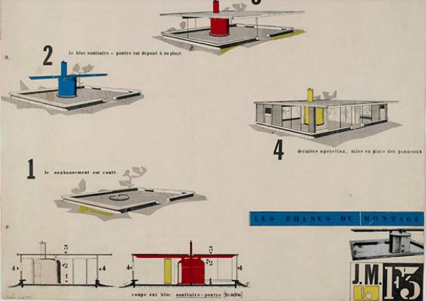 Un schéma d'une maison pour les SDF
