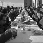 Banquet à même la rue
