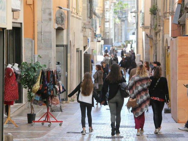 La rue des arts