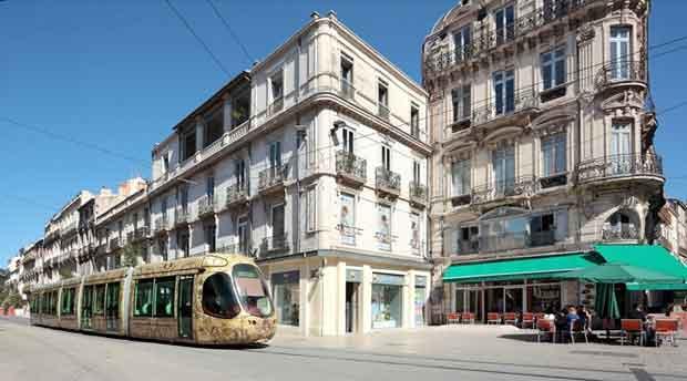 Le centre-ville de Montpellier se renouvelle.