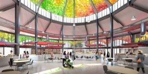 Le futur intérieur des Halles Laissac de Montpellier
