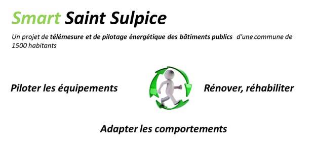 Saint-Sulpice est la plus petite smartcity de France.