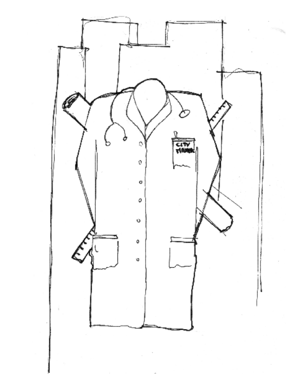 une chemise de médecin