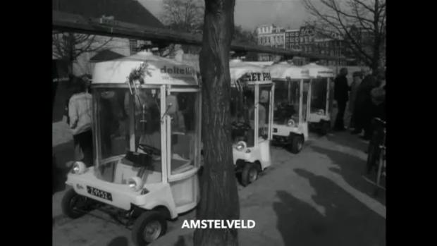 Les premières voitures électriques