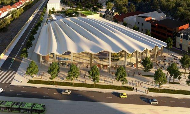 Un complexe aqualudique à l'architecture contemporaine comme projet emblématique du renouveau de Reims