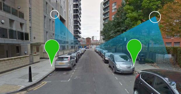 Parking map scanne les rues avec ses capteurs