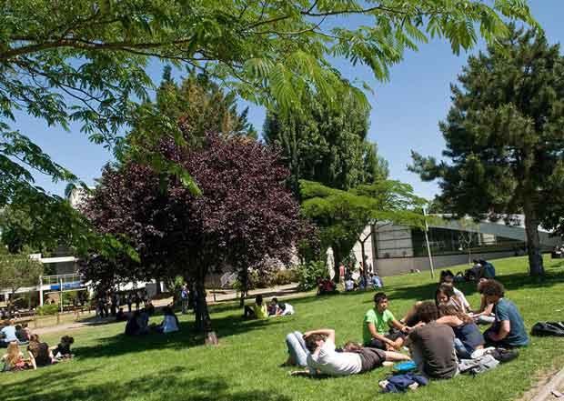 Un travail sur la mixité a été réalisé sur le campus de Talence Peyssac à Bordeaux.