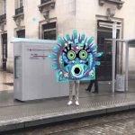 L'artiste Guillaumit a réalisé des costumes en réalité augmentée pour le carnaval de Bordeaux.
