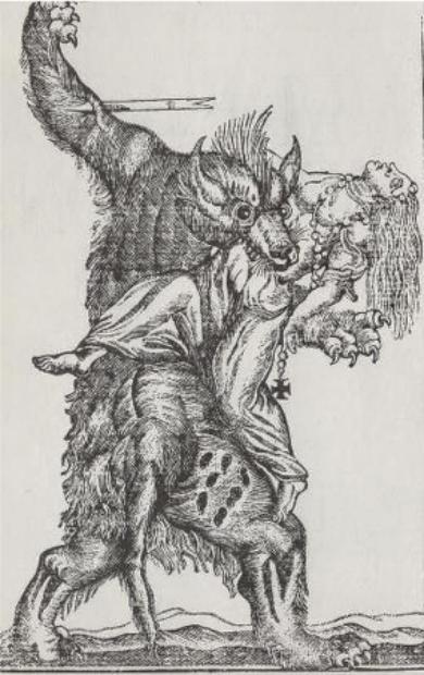 La lune source de mythes et légendes comme celle bien connue du loup-garou