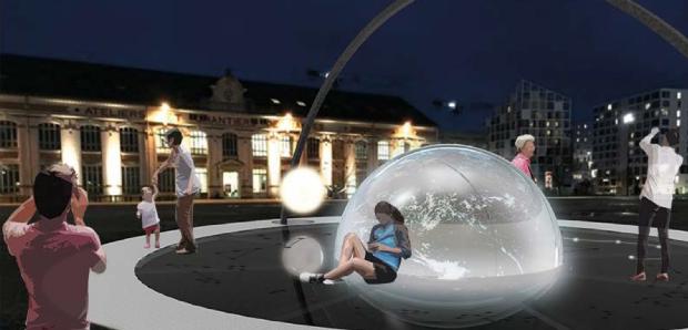 Revaloriser la lune dans l'espace public