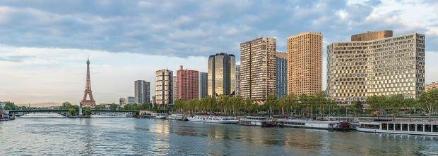 Vue du quartier du Front de Seine