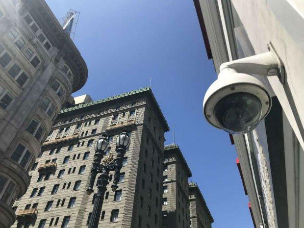 L'espace public surveillé par des caméras