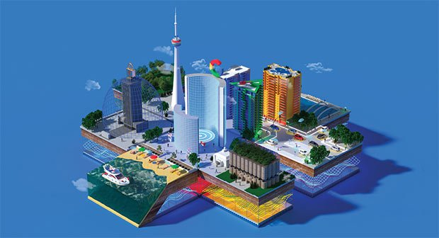 Quelles promesses des villes intelligentes de Google ?